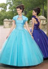 2012 One Shoulder Vizcaya Quinceanera Dress 87074